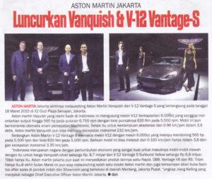Aston Martin Jakarta, PT. 9