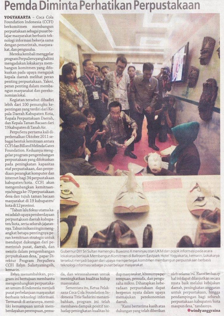 Coca Cola Foundation Indonesia, CCFI