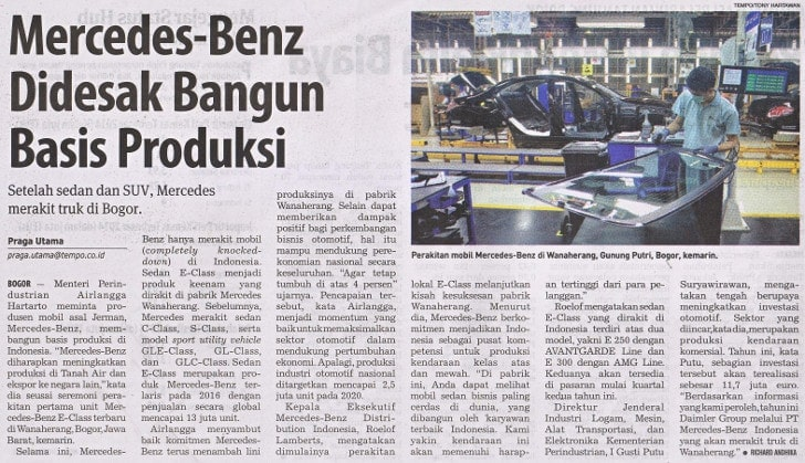 Mercedes Benz,Indonesia International Motor Show,Body & Paint Centre