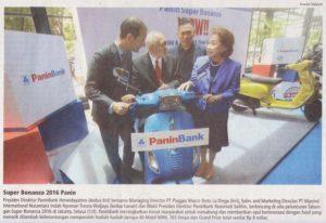 Panin Bank Product Launching 2016