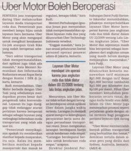 Uber Indonesia Technology, PT. 5